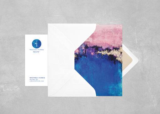 "Abstract postcard ""Dreamy Sky"""