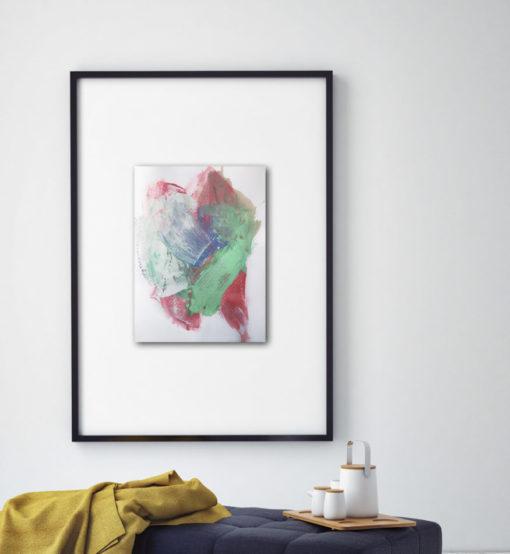 "Abstract Painting ""Fade Away no 3"""