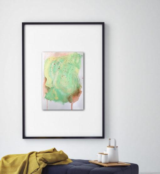 "Abstract Painting ""Fade Away no 5"""
