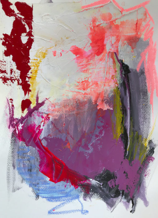 """Abstract painting """"Finding the Truth no 5"""""""
