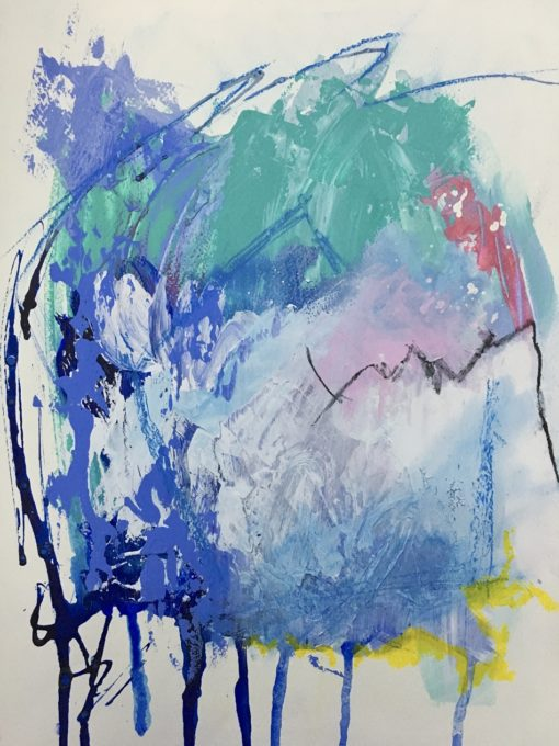 """Abstract painting """"Finding the Truth no 2"""""""