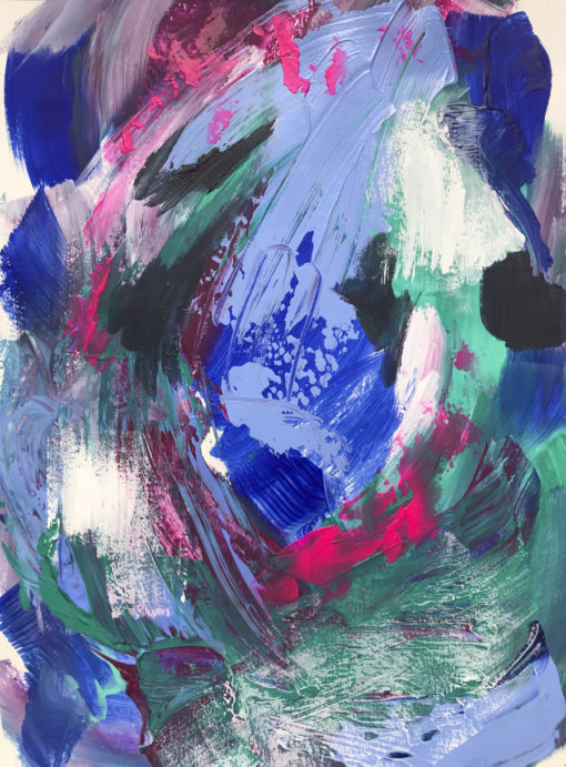 """Abstract painting """"Happy Dance"""""""