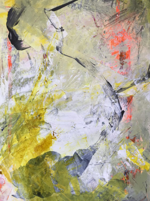 """Abstract painting """"Sunshine"""""""
