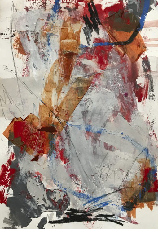 """Abstract Painting """"The Time no 1"""""""