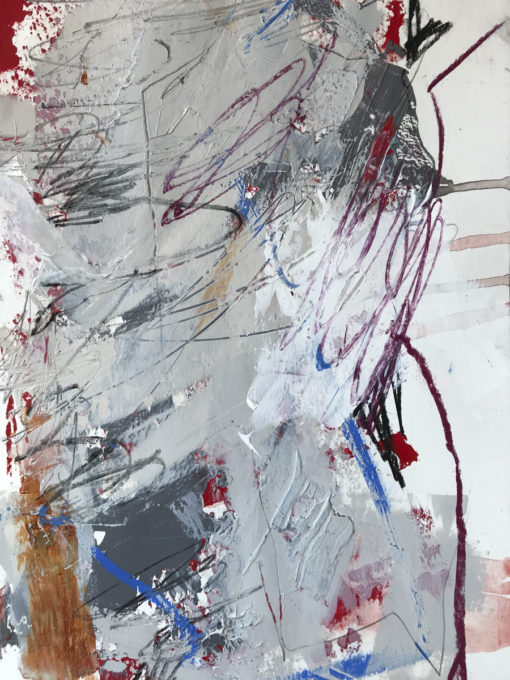 """Abstract Painting """"The Time no 2"""""""