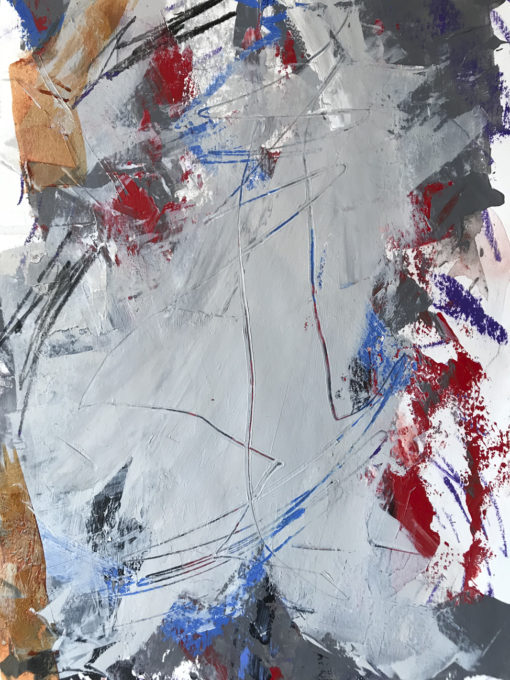 "Abstract Painting ""The Time no 3"""