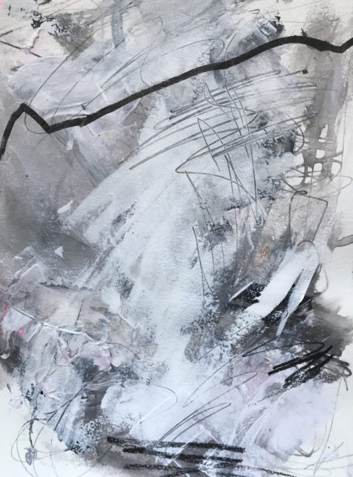 "Abstract Painting ""Winter Day"""