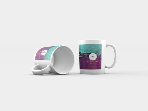 "Abstract Mug ""Joy"""