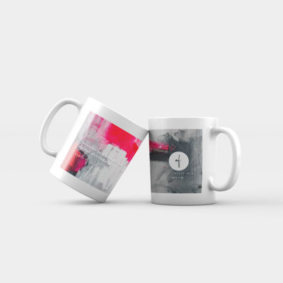 "Abstract Mug ""Love Story"""
