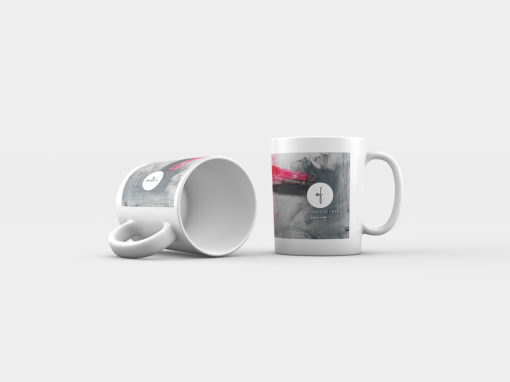"Abstract Mug ""Love Story"""