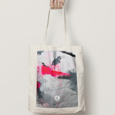 "Cotton Bag ""Love Story no 3"" A"