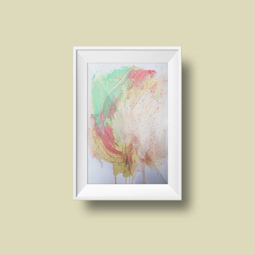 "Abstract Painting ""Fade Away no 2"""