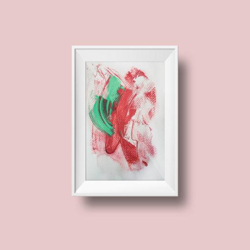 "Abstract Painting ""Fade Away no 4"""