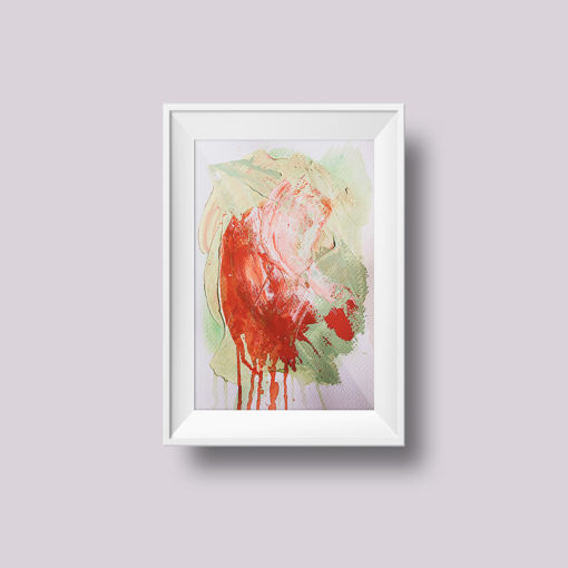"Abstract Painting ""Fade Away no 6"""