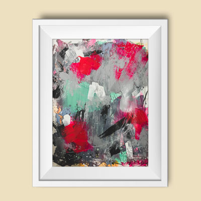 "Abstract painting ""Playground no 2"""