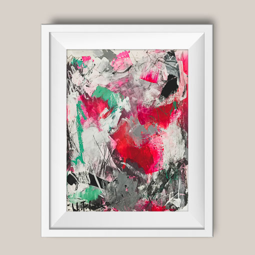 """Abstract painting """"Playground no 4"""""""