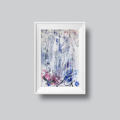 """Abstract Painting """"White Light no 2"""""""
