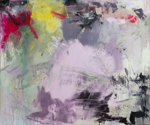 Love Story no 2, abstract painting, Wiktoria Florek