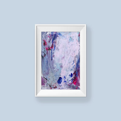 Untitled no 1, abstract painting by Wiktoria Florek