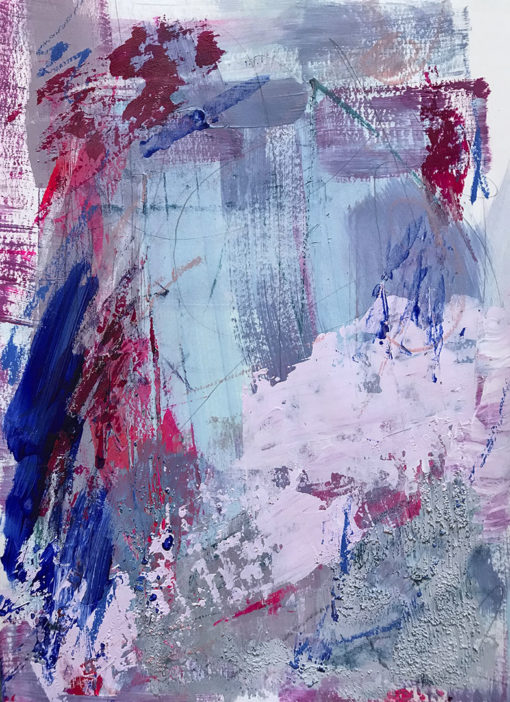 Untitled no 2, abstract painting by Wiktoria Florek