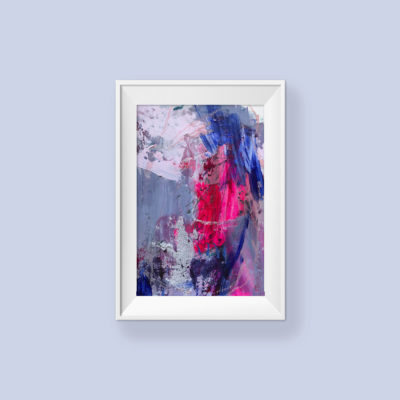 Untitled no 3, abstract painting by Wiktoria Florek
