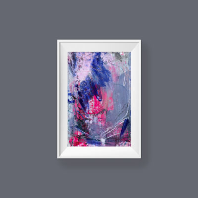 Untitled no 5, abstract painting by Wiktoria Florek