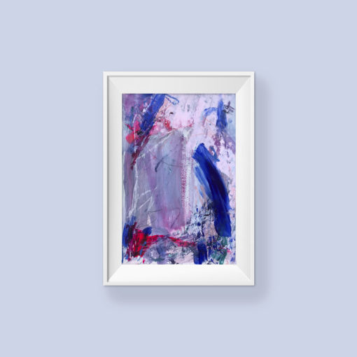 Untitled no 6, abstract painting by Wiktoria Florek