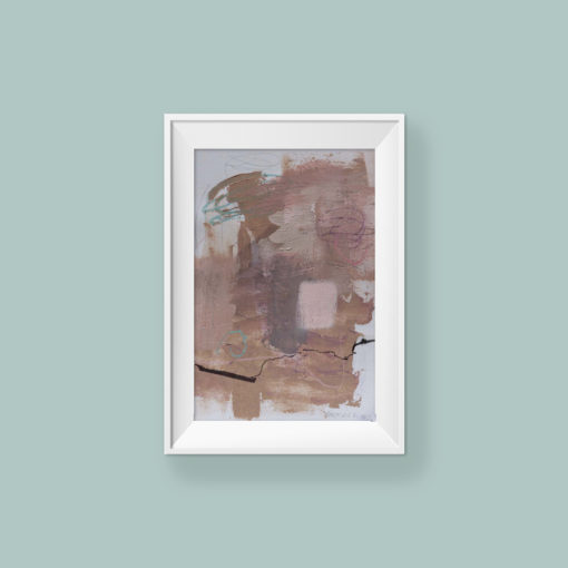 Abstrac Painting_Star is Your name_WFA_frame