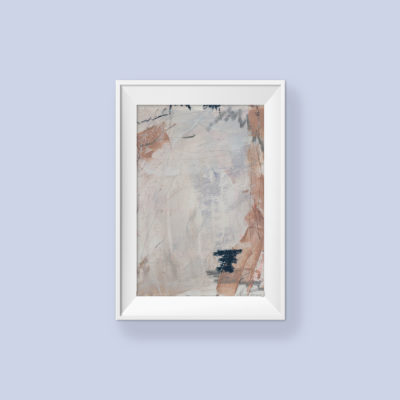 Abstract Painting_Baby baby my little baby_WFA_frame