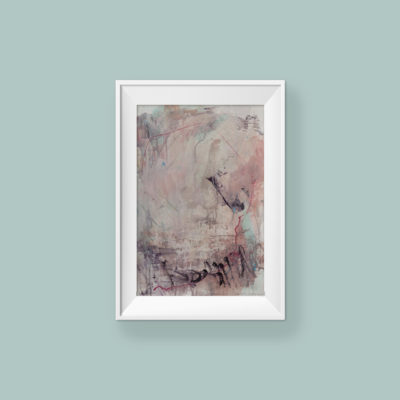 Abstract Painting_Can't stop kissing you_WFA_frame