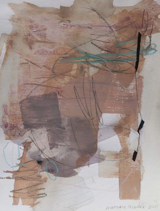 Abstract Painting_I'm gentle and strong for you_WFA