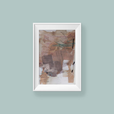 Abstract Painting_I'm gentle and strong for you_WFA_frame