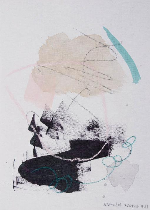 I'm loving and tender, Abstract Painting, Wiktoria Florek