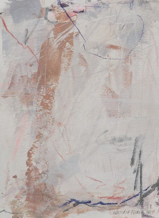 Abstract Painting_My hear is warm when you're with me_WFA
