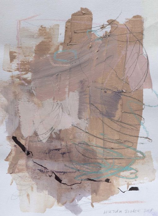 Abstract Painting_Your hugs are the sweetest_WFA