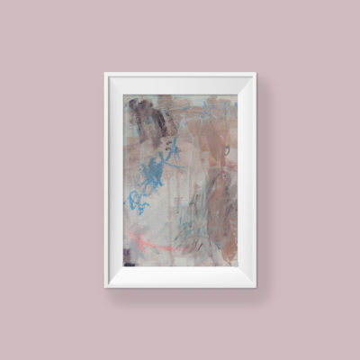 Abstract Painting_Your smile makes me happy_WFA_frame