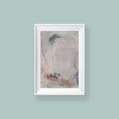 Abstract Painting_You're beautiful from the inside out_WFA_frame
