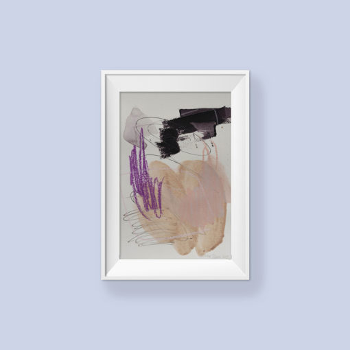 Abstract Painting_You're safe_WFA_frame
