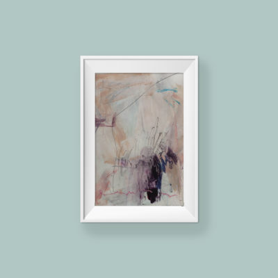 Abstract painting_If you're happy, I'm happy_frame