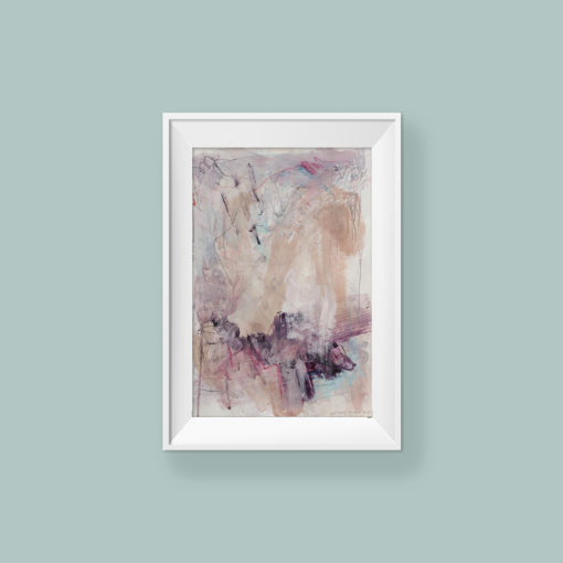 Abstract painting_I'm holding you_frame