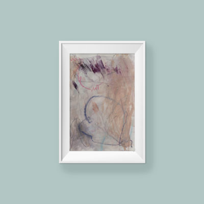 Abstract painting_Just because you are_frame