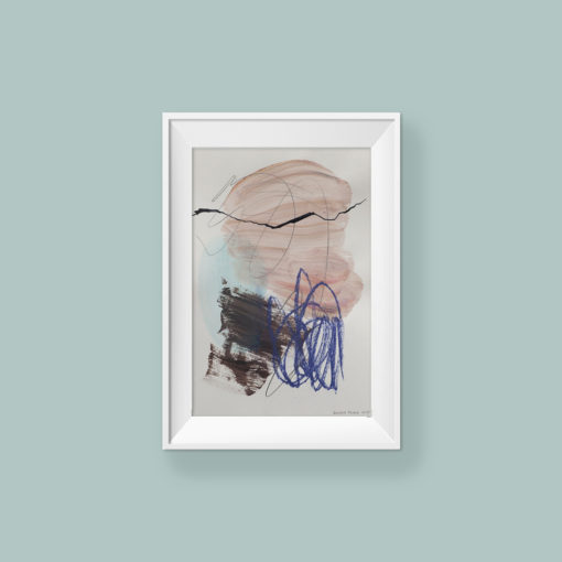 Abstract painting_Sweetheart_frame