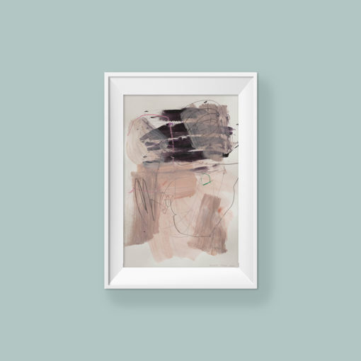 Abstract painting_Take me home_WFA_frame