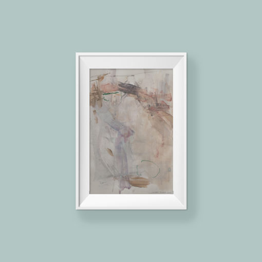 Abstract painting_You can reach the stars_WFA_frame