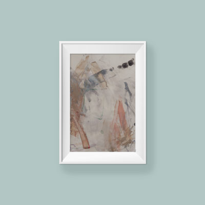 Abstract painting_You're so brave my baby_WFA_frame