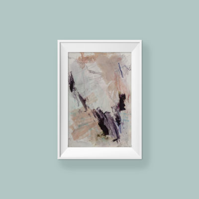 Abstract painting_You're valuable_WFA_frame