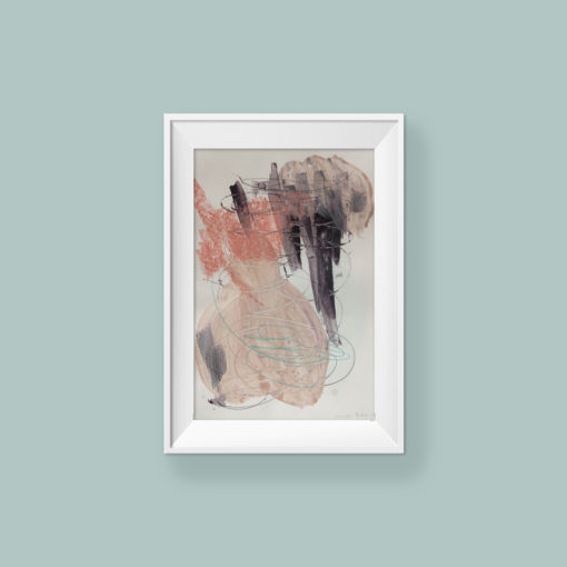 Abstract paitning_Angel_frame