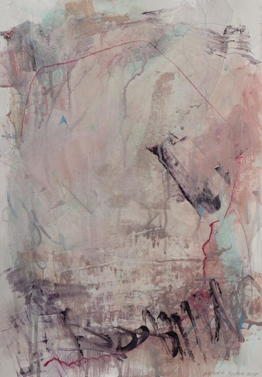 Abstract Painting_Can't stop kissing you_WFA
