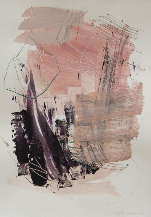 Abstract painting_My sweet baby smile, don't cry_WFA