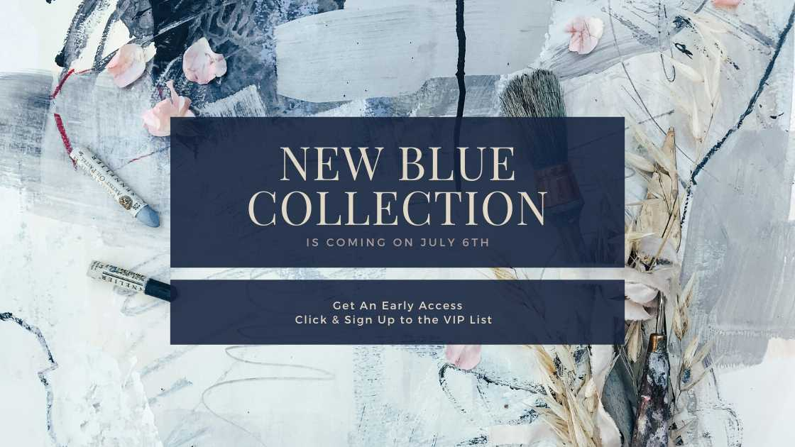 New Blue Collection banner